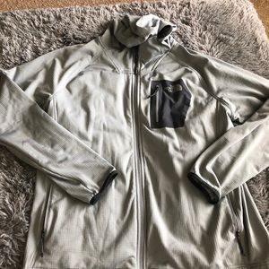 The North Face full zip jacket size XXL